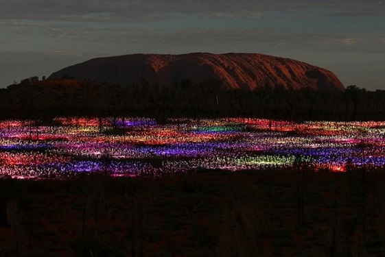 Field of Light by Bruce Monro in THE LUXURY TRAVEL BIBLE (1)