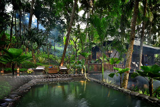 capella ubud pool  luxury travel bible