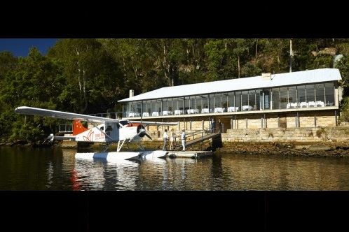 berowra waters inn by sea plane