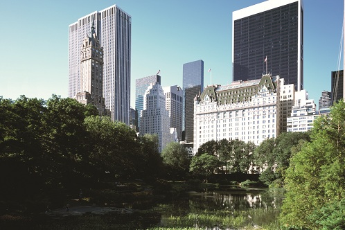 the plaza from central park