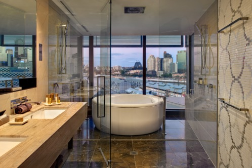 Luxury Bathrooms Australia the luxury travel bible - luxury hotels: the darling, sydney