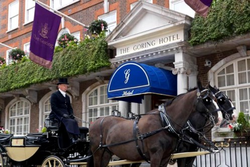 horses and carriage goring