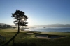 The 18th at Pebble Beach, California