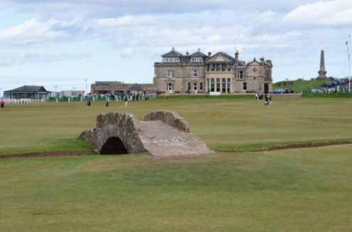 The Road Hole - St Andrews Old Course, Scotland