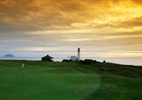 The 9th at Turnberry, Scotland