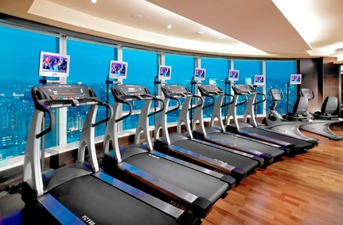 Luxury Gyms The luxurious langham place