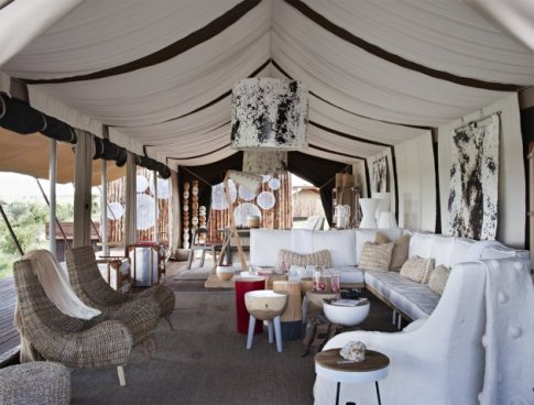 Singita's Mara River Tented Camp