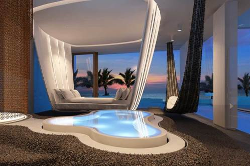 The Amazing Villas Each With Three Suites And Their Own Spa Have Been Created By Some Of Worlds Best Creative Minds Including Campana Brothers