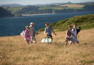 Luxury Travel in Cornwall, England in the new Richard Curtis film About Time