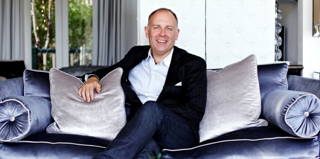 Simon Westcott, CEO AND FOUNDER of LUXE city guides