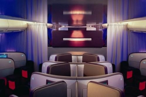 Virgin Upper Class Cabin