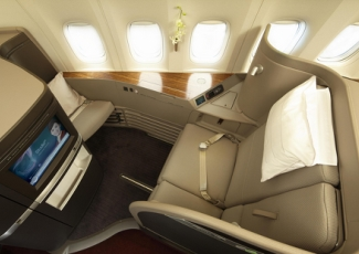 Luxury Air Travel in Cathay Pacific