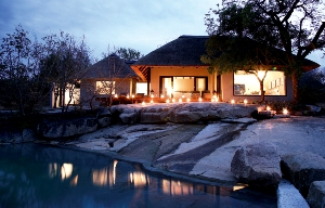 Private Granite Suite - View from River at Londolozi