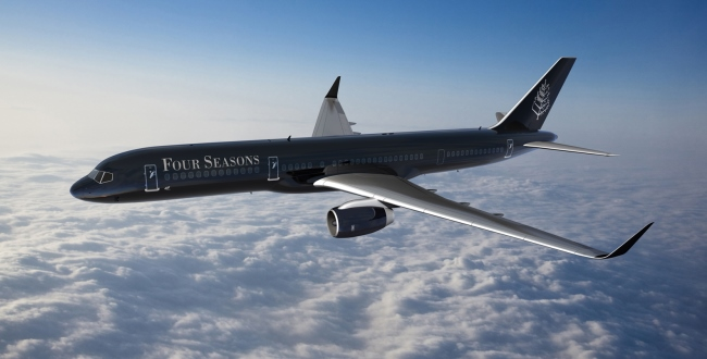 Four Seasons Hotels' new private jet