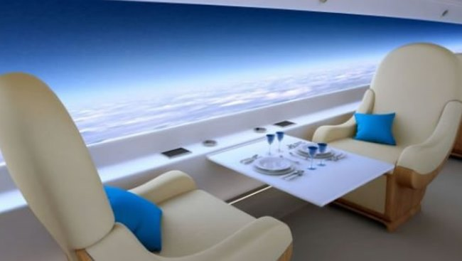 The Luxury Travel Bible Supersonic Private Jet