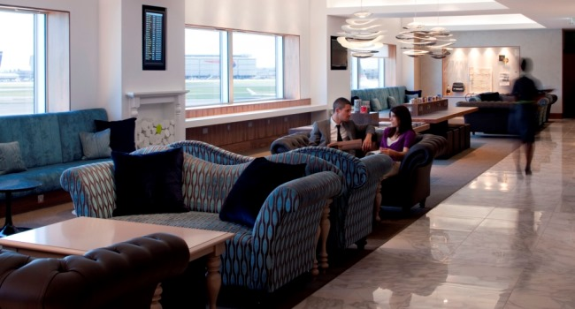 No 1 Traveller Lounge at Heathrow Terminal 3