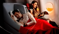 Luxury Air Travel report of Air ASIA x