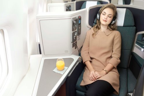 Luxury Travel in Cathay Pacific