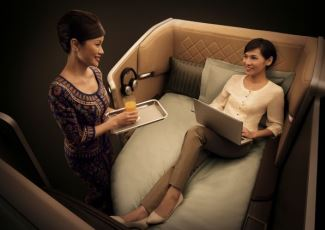 Luxury Air Travel on Singapore Airlines