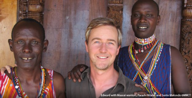 Edward Norton talks about Travel in Kenya