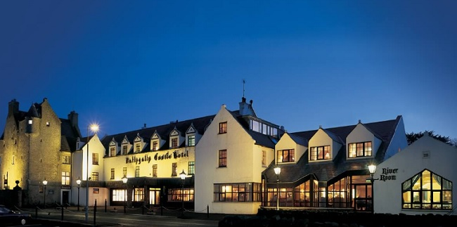 Luxury Northern Ireland Hotel, The BallyGally Castle