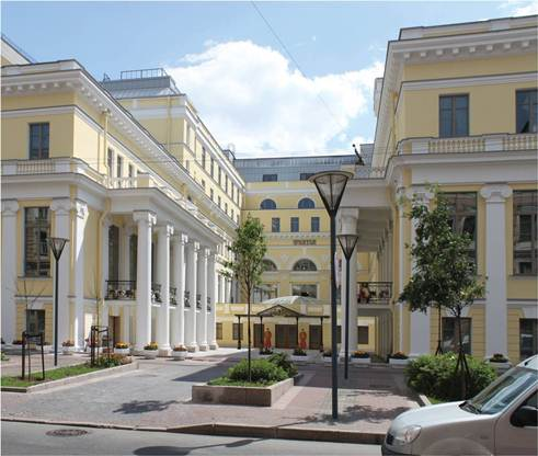 luxury hotel the state hermitage hotel, Russia