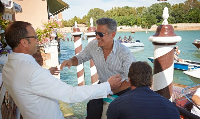 George Clooney's tequila served in Luxury Italian Hotel