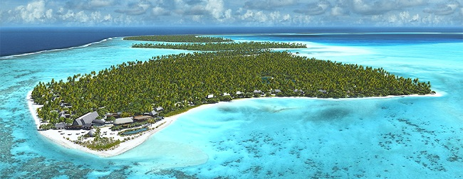 brando island in the luxury travel bible