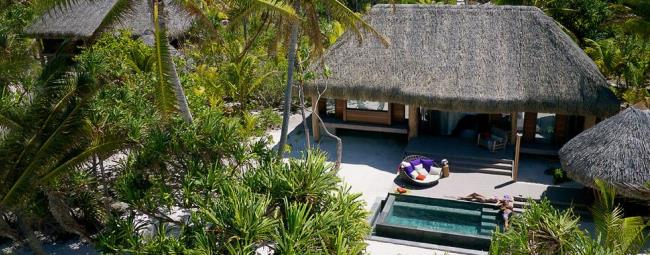 Luxury Private Villa on Brando Island, Tahiti