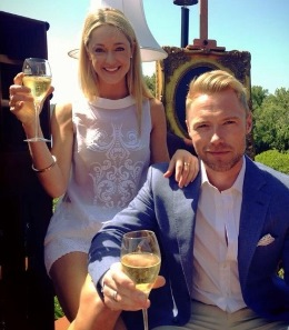 Ronan Keating stays at Hamilton Island